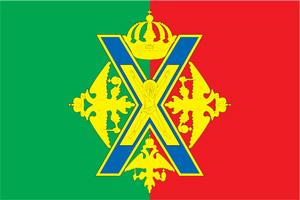 Флаг муниципального образования Преображенское